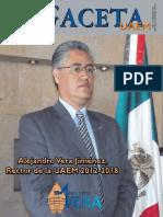 Alejandro Vera Jiménez, Rector de La UAEM 2012 - Universidad ...