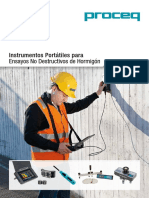 Concrete Testing Products Sales Flyer Spanish Low