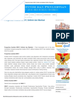 Pengertian Analisis SWOT, Definisi Dan Manfaat _ Definisi Pengertian