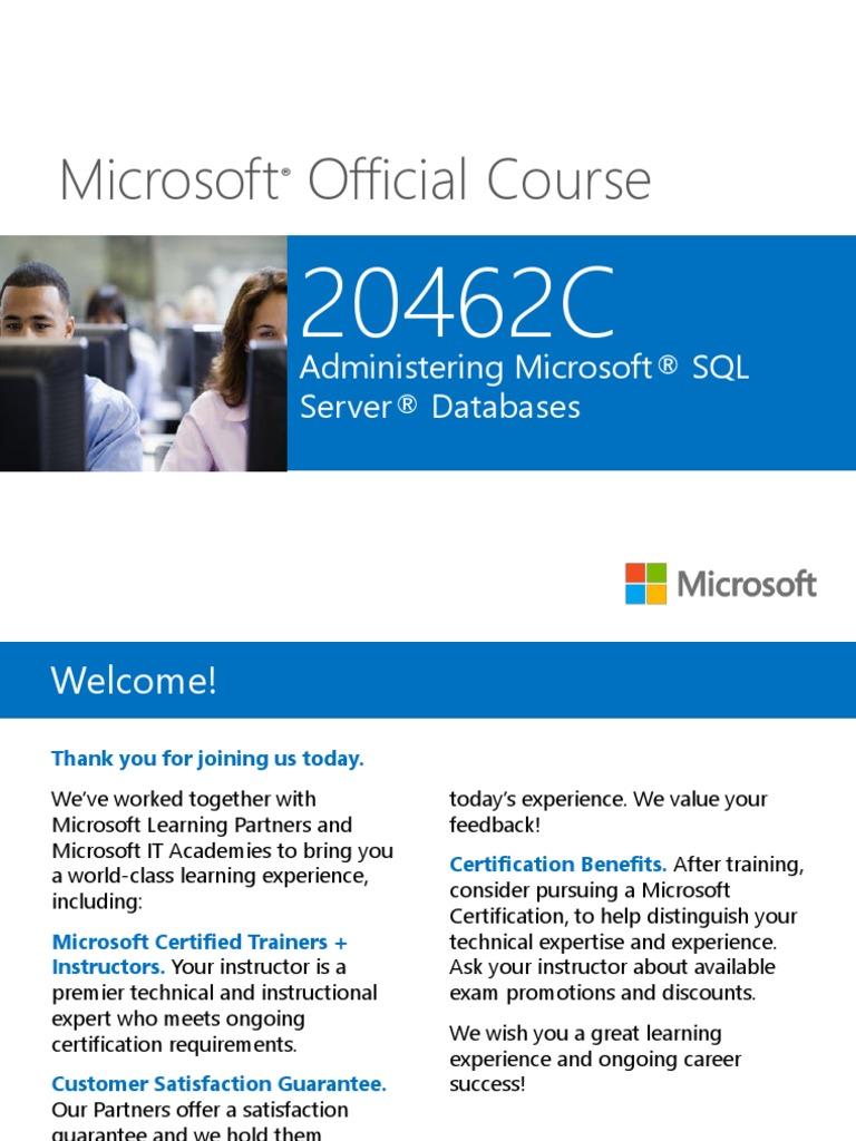 20462c00pptx Microsoft Sql Server Hyper V