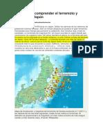 Claves Para Comprender El Terremoto y Tsunami De