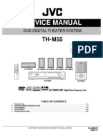 JVC TH-M55 DVD Theater System,Sm