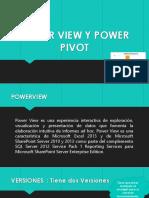 Power View y Power Pivot