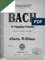 Bach - 18 Pequeños Preludios (P97)