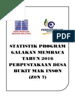 Cover Statistik Program Membaca 2016
