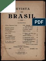 Revista do Brasil, 1916