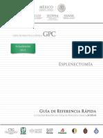 esplenectomia GPC