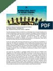 Jugement Tribunal international des droits de la Nature - Montagne D'or