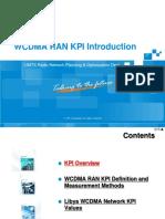 Training Material_WCDMA RAN KPI Introduction