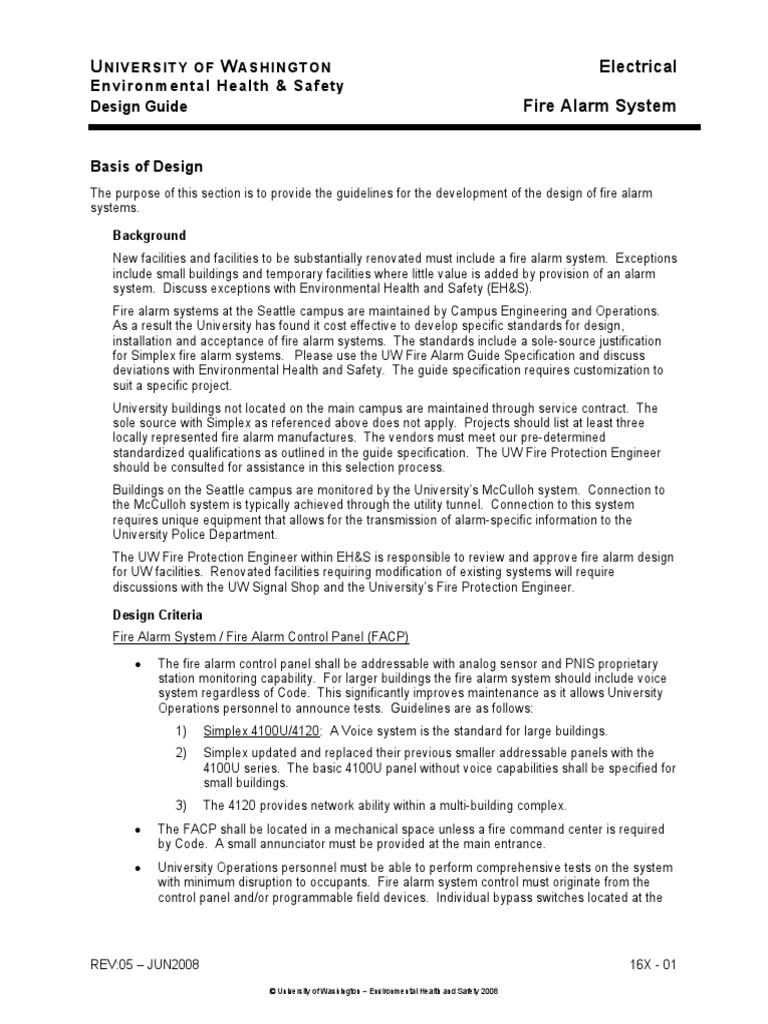 Fire Alarm System Design Guide Pdf Elevator Loudspeaker
