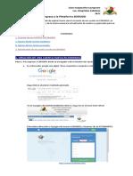 Manual de Ingreso a La Plataforma EDMODO
