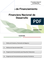 Política Financia Mien To