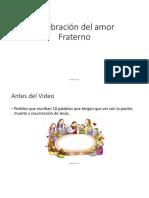Celebracion Del Amor Fraterno (Segundo Ciclo)