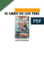 Alexander, Lloyd - P1, El Libro de los Tres.pdf