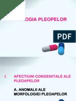 Curs Patologia Pleopelor