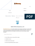 Cara Instal SPSS Statistics 24 Full Version