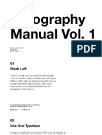 Typography Manual Vol1 1