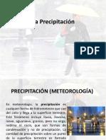 Semana 5,6 Precipitaciciones