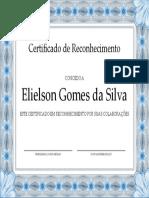 Eli Elson