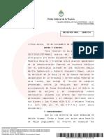 La Cámara Federal de Casación ratificó los procesamientos de Leandro, Luciana y Melina Báez