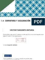 1.4 Curvatura y Aceleración Clase 5