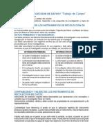 05. Tecnicas e Instrumentos de Recoleccion de Datos - Resumen