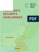 Pakistan Securit Challenges