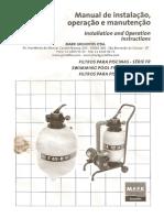 Manual do Filtro Piscina Grundfos