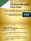 Taxation Report - Valuation of properties - vanishing deduction