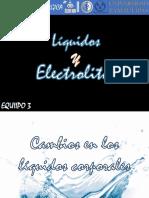 Cambios en Los Liquidos Corporales.