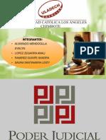 El Poder Judicial Peruano _2017_grupo_las Friends