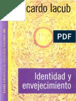 Iacub Ricardo Identidad y Envejecimiento