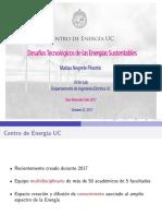 Presentación Centro de Energía UC - Desafíos Tecnológicos de las Energías Sustentables