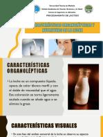 Propiedades Organolepticas y Nutritivas de La Leche