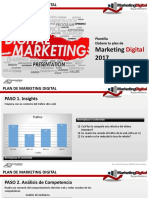 Plan Propuesta Marketing Digital 2017