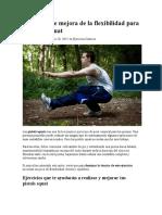 (3)Ejercicios de Mejora de La Flexibilidad Para Las Pistol Squat
