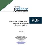 Bilan de santé de la PME Partie 2