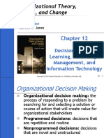 CH12 Decision Making, Learning, Knowledge Management, and Information Technology.ppt