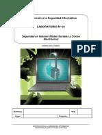 Lab 03 - Seguridad en Redes Sociales y Correo Electrónico