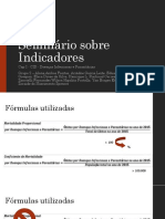 Seminario Sobre Indicadores - Cap I - Doencas Infecciosas e Parasitarias (1)