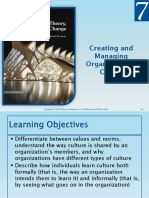 Ch 7 Creating and Managing Organizational Culture.ppt