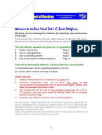 User Manual for CD or E-Book