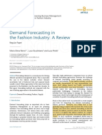 Demand Forescasting in the Fashion Industry