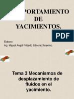 COMPORTAMIENTO DE YACIMIENTO