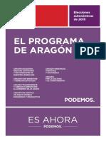 Podemos Programa Aragon Web