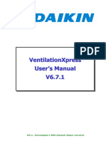 VentilationXpressManual de Usuario Daikin
