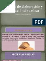 Proceso de Elaboración de Azúcar.procesos