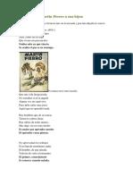 Consejos de Martín Fierro a Sus