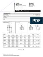RLB Series Radial Inductors