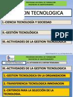 3.2 Gestion Tecnologica